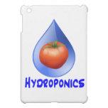 Hydroponic Tomato water drop design logo iPad Mini Cover