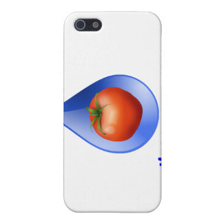 Hydroponic Tomato water drop design logo Cover For iPhone 5
