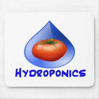 Hydroponic Tomato water drop design logo Mousepad
