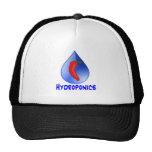 Hydroponics, chili pepper, blue text design hat