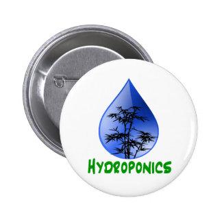 Hydroponics design-black bamboo button