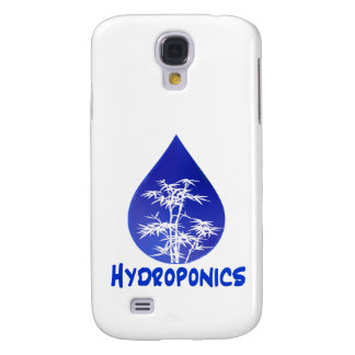 Hydroponics design , blue drop and white tree samsung galaxy s4 cover