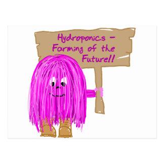 Hydroponics Farming of the Future Postcard