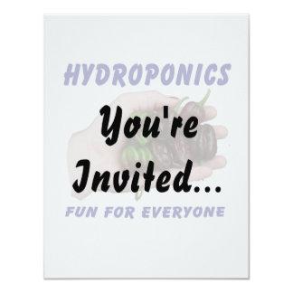 Hydroponics Fun Chocolate Habanero Peppers Card