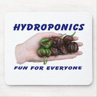 Hydroponics Fun Chocolate Habanero Peppers Mousepad