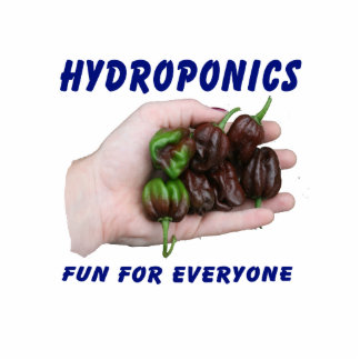 Hydroponics Fun Chocolate Habanero Peppers Photo Cut Outs