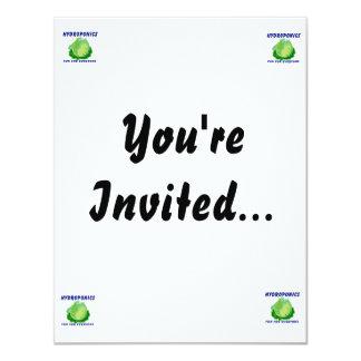 Hydroponics Fun For Everyone Lettuce Design Card