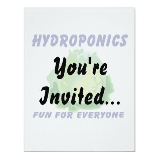 Hydroponics Fun For Everyone Lettuce Design Card