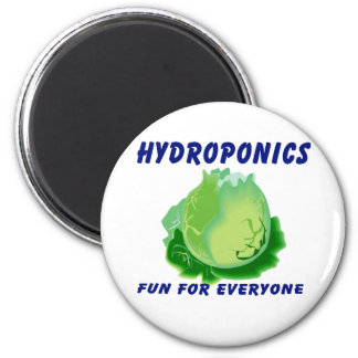 Hydroponics Fun For Everyone Lettuce Design Magnets