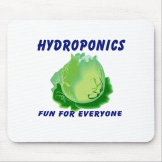 Hydroponics Fun For Everyone Lettuce Design Mouse Pad