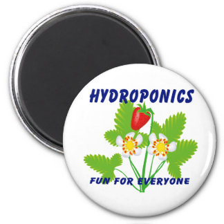 Hydroponics Fun For Everyone Strawberries Magnets