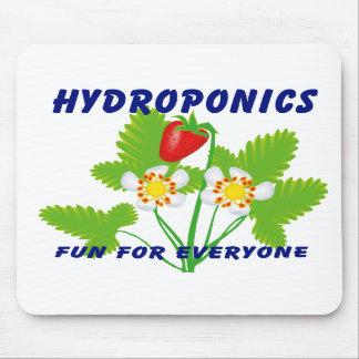 Hydroponics Fun For Everyone Strawberries Mousepad