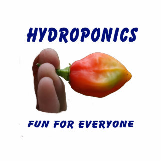 Hydroponics Fun Habanero Pepper Flame Fingers Photo Cut Out