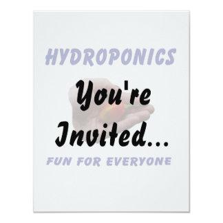 Hydroponics Fun Habanero Pepper in Hand Design Card