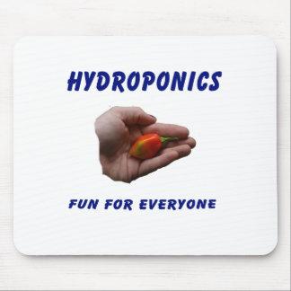 Hydroponics Fun Habanero Pepper in Hand Design Mouse Pad