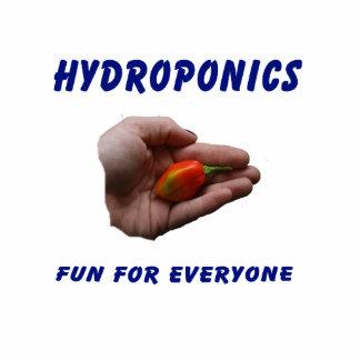 Hydroponics Fun Habanero Pepper in Hand Design Cut Out
