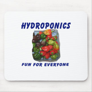 Hydroponics Fun Hot Pepper Pile Canvas Filter Mouse Pads