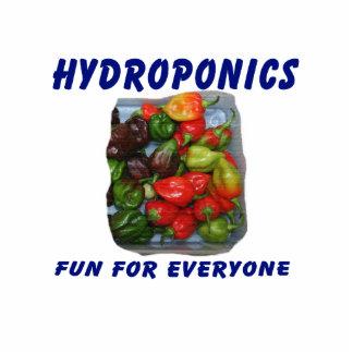 Hydroponics Fun Hot Pepper Pile Canvas Filter Photo Cutout