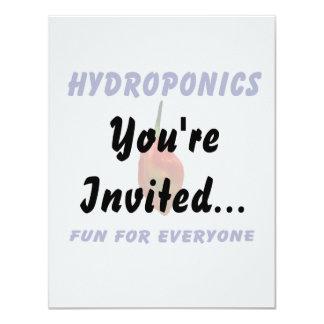 Hydroponics Fun Single Habanero Pepper Design Card