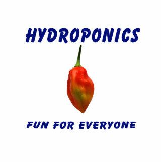 Hydroponics Fun Single Habanero Pepper Design Photo Cutout