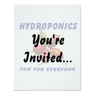 Hydroponics Fun Star Habanero Pepper Design Card