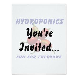Hydroponics Fun Star Habanero Pepper Design Card