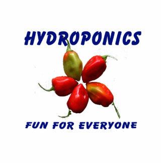 Hydroponics Fun Star Habanero Pepper Design Photo Cut Out