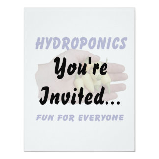 Hydroponics Fun White Habanero Peppers Hand Card
