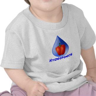 Hydroponics graphic, hydroponic pepper & drop tshirts