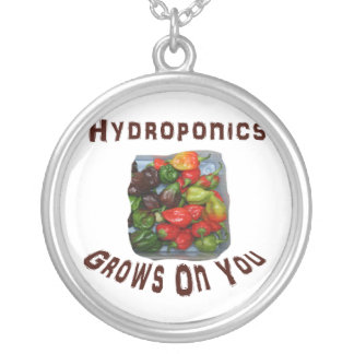 Hydroponics Grows On You Canvas Peppers Pendants