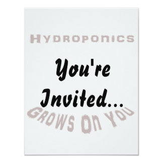 Hydroponics Grows On You Card