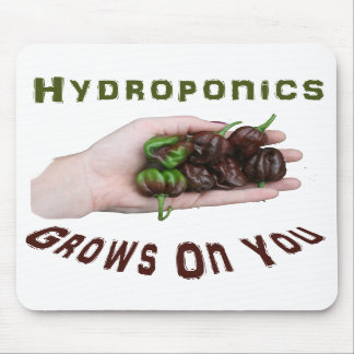 Hydroponics Grows On You Chocolate Habanero Mouse Pads