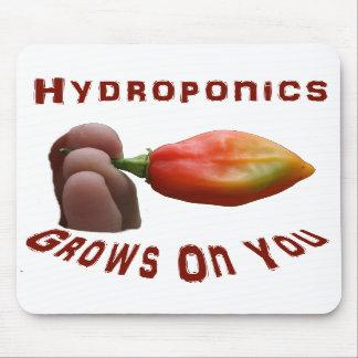 Hydroponics Grows On You habanero fingers Mousepads