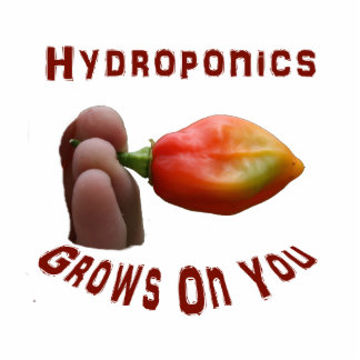 Hydroponics Grows On You habanero fingers Acrylic Cut Out