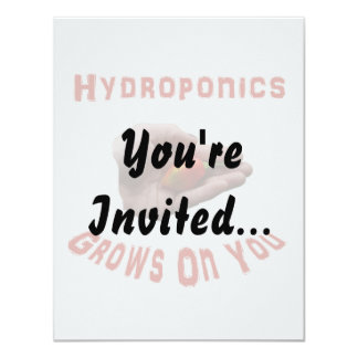 Hydroponics Grows on you Habanero Pepper Hand Card