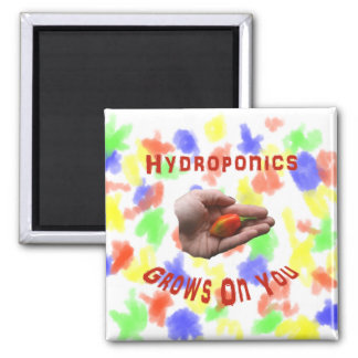 Hydroponics Grows on you Habanero Pepper Hand Magnets