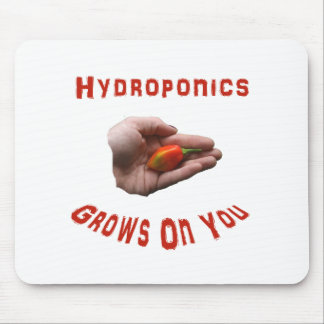 Hydroponics Grows on you Habanero Pepper Hand Mousepads