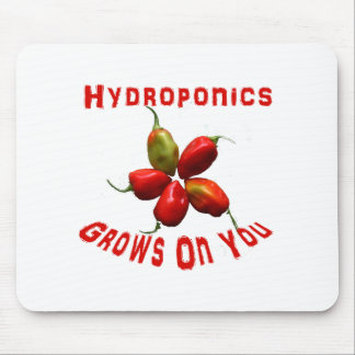 Hydroponics Grows On You habanero star Mouse Pad
