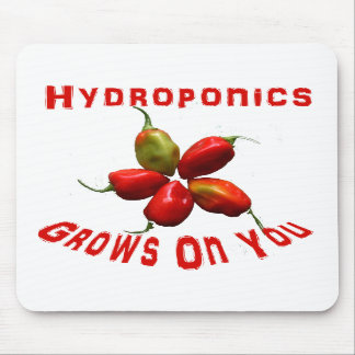 Hydroponics Grows On You habanero star Mousepads