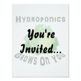 Hydroponics Grows On You Lettuce Card