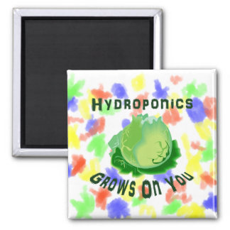Hydroponics Grows On You Lettuce Magnet