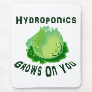 Hydroponics Grows On You Lettuce Mouse Pad