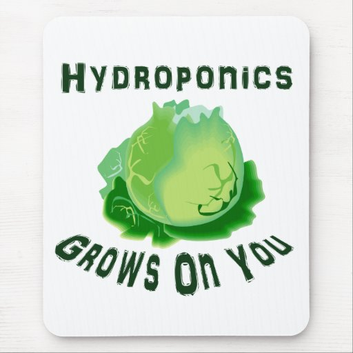 Hydroponics Grows On You Lettuce Mousepads