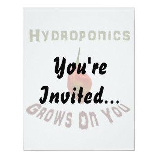 Hydroponics Grows On You Single Habanero Card