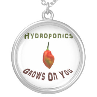 Hydroponics Grows On You Single Habanero Necklace