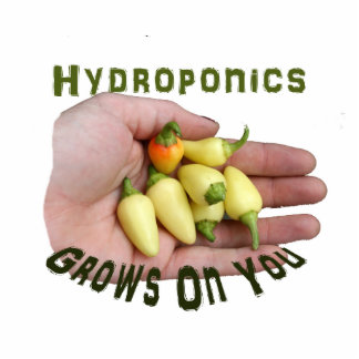 Hydroponics Grows On You White Habanero Cut Out