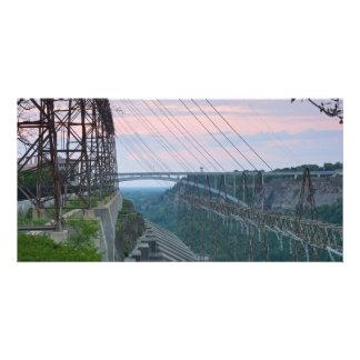 Hydropower Station on Niagara River in Canada Card
