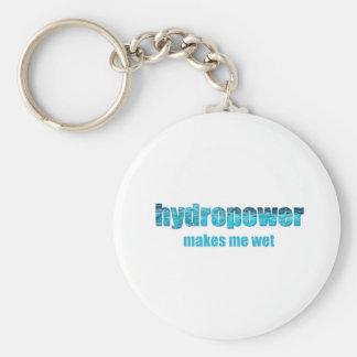 Hydropower Wet! Basic Round Button Keychain