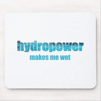 Hydropower Wet! Mousepad