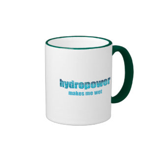 Hydropower Wet! Mugs and Cups